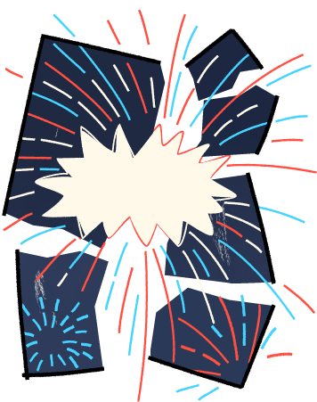 Fireworks cons.